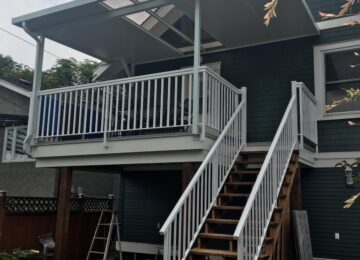 Deck Makeover & Patio Cover Surrey